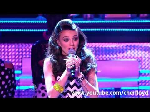 Cher Lloyd - Want U Back (America's Got Talent Results) 25/7/2012 HQ/HD
