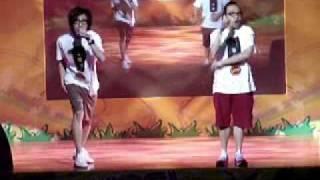 全港校花校草選舉 2009 表演嘉賓 1 農夫 娛樂圈殺人事件 舉高隻手