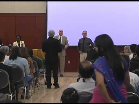 2012 International Graduates Recognition Ceremony, West Virginia University
