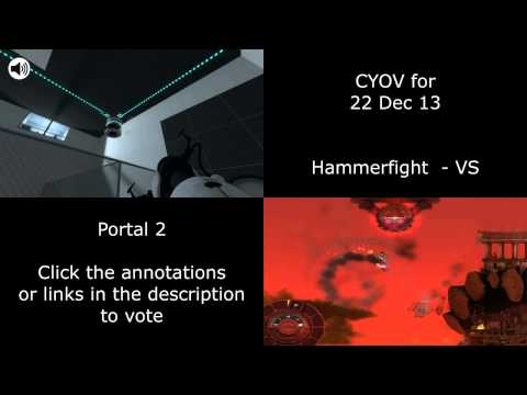 CYOV - Hammerfight VS Portal 2 - Choose Your Own Video