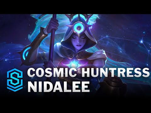Cosmic Huntress Nidalee Skin Spotlight - League of Legends