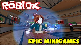 ROBLOX: DISCOVERING VARIOUS MINIGAMES! (Epic Minigames)