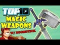 Top 10 Magic Weapons W DEATH BATTLE S Boomstick mp3