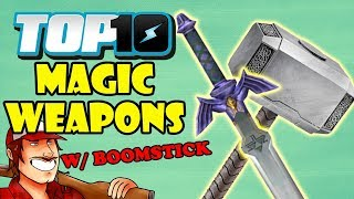 Top 10 Magic Weapons w/ DEATH BATTLE's Boomstick