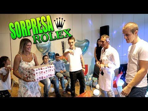Download Youtube: FIESTA SORPRESA A MI PADRE | LE REGALAMOS UN ROLEX | 50 CUMPLEAÑOS