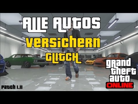 gta 5 online alle autos versichern patch deutsch