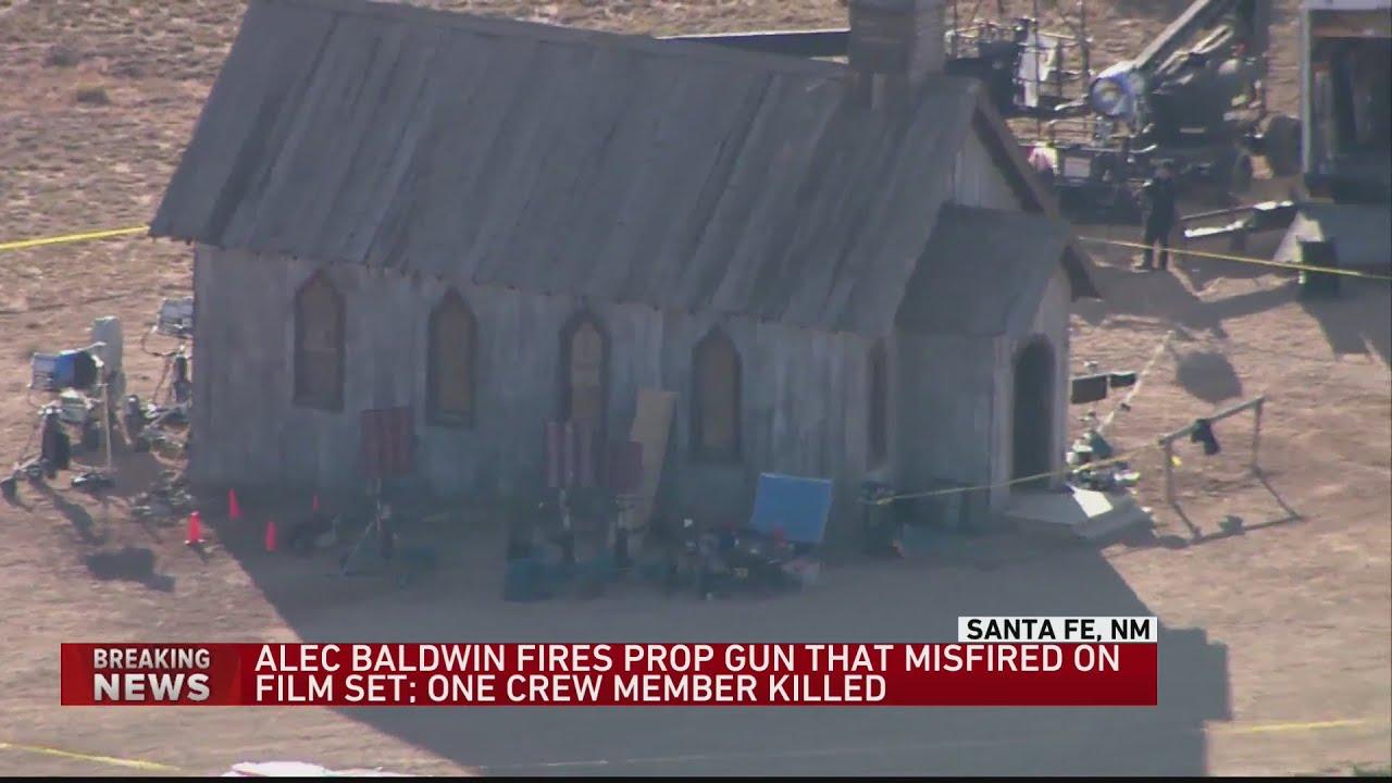 Download Prop gun fired by actor Alec Baldwin kills crewmember, injures another