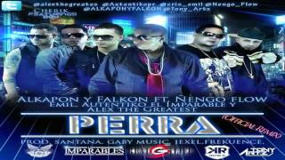 Download Perra (Remix) - Alkapon y Falkon Ft Ñengo Flow MP3 song and Music Video