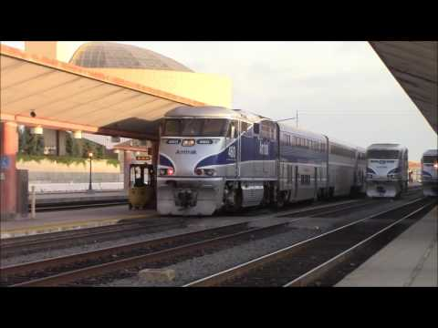 Railfanning Los Angeles Union Station 6/23/2017