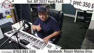 Korg Pa4X Marius Talent ( Set. MT 2017 KorgPa4X ) - 0763.991.556