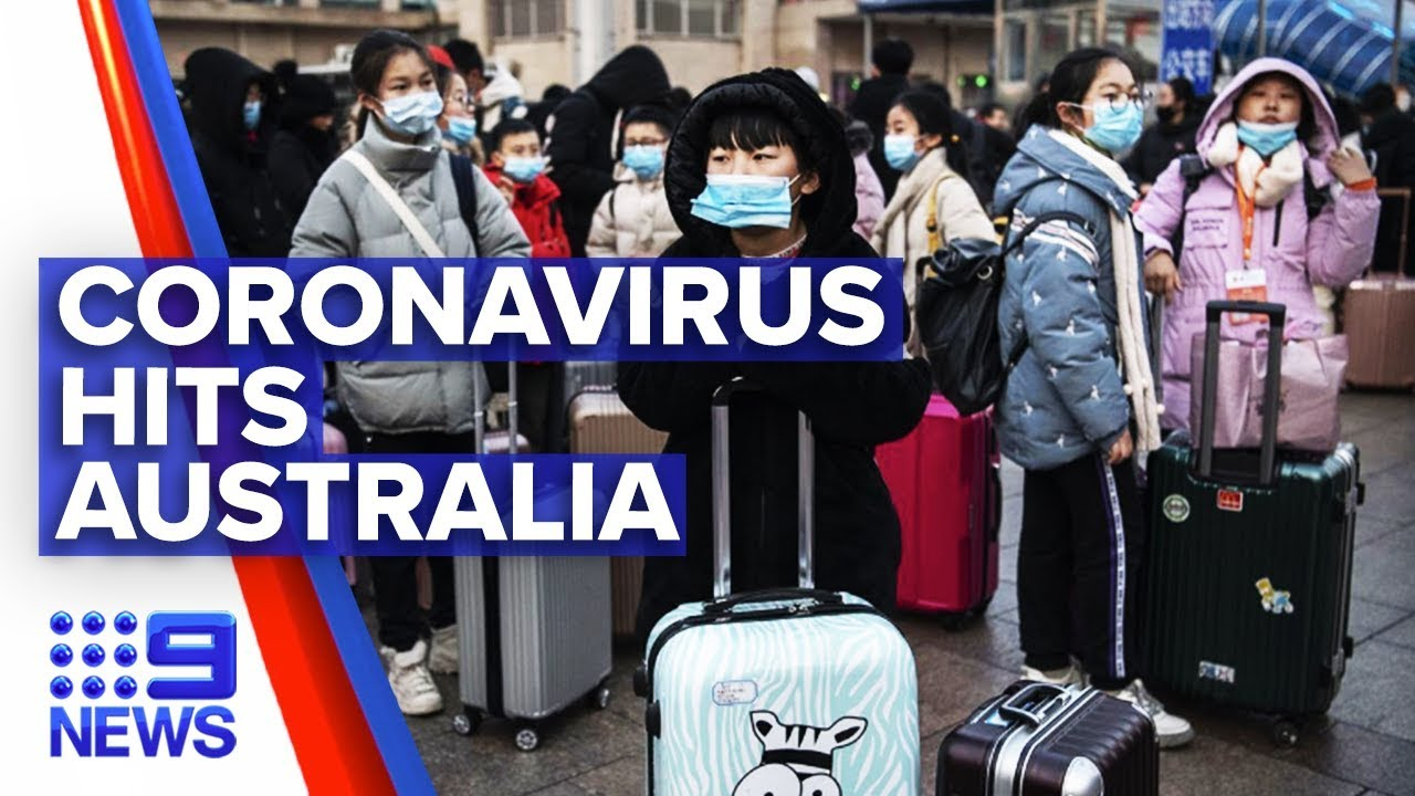 Number of cases of coronavirus in Australia grows | Nine News ...