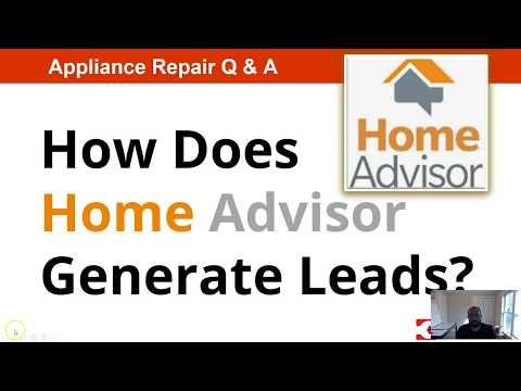 How Home Advisor Generates Leads for Appliance Repair Companies