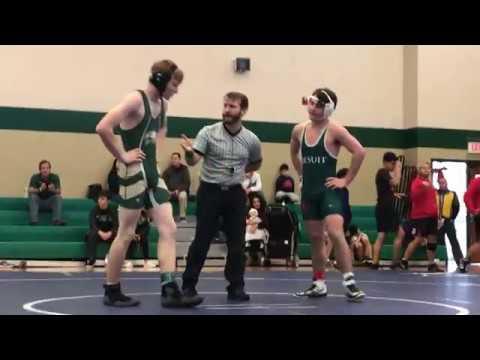 Jonus Gray (152) vs. Strake Jesuit College Prep School - Quarterfinals of Knights Invitational