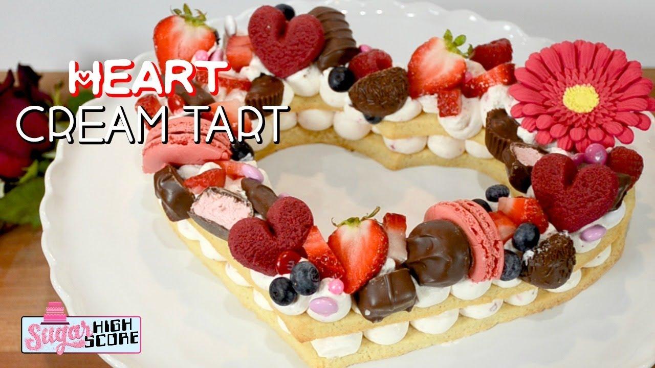 Heart Shaped Lemon Cake