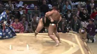 平成25年十一月場所3日目 大砂嵐嬉しい幕内初白星 sumo 大相撲 九州...