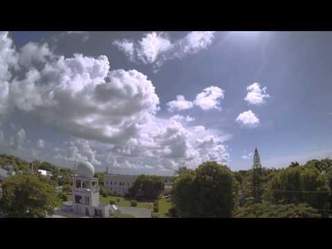 Gradual Cloud Line and Thunderstorm Development over Key West
