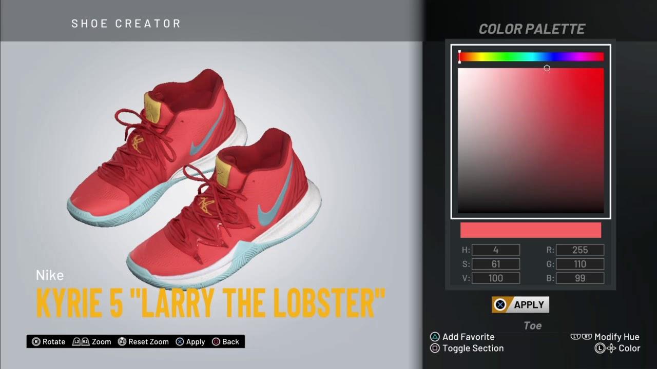 NBA 2K20 Shoe Creator | Nike Kyrie 5