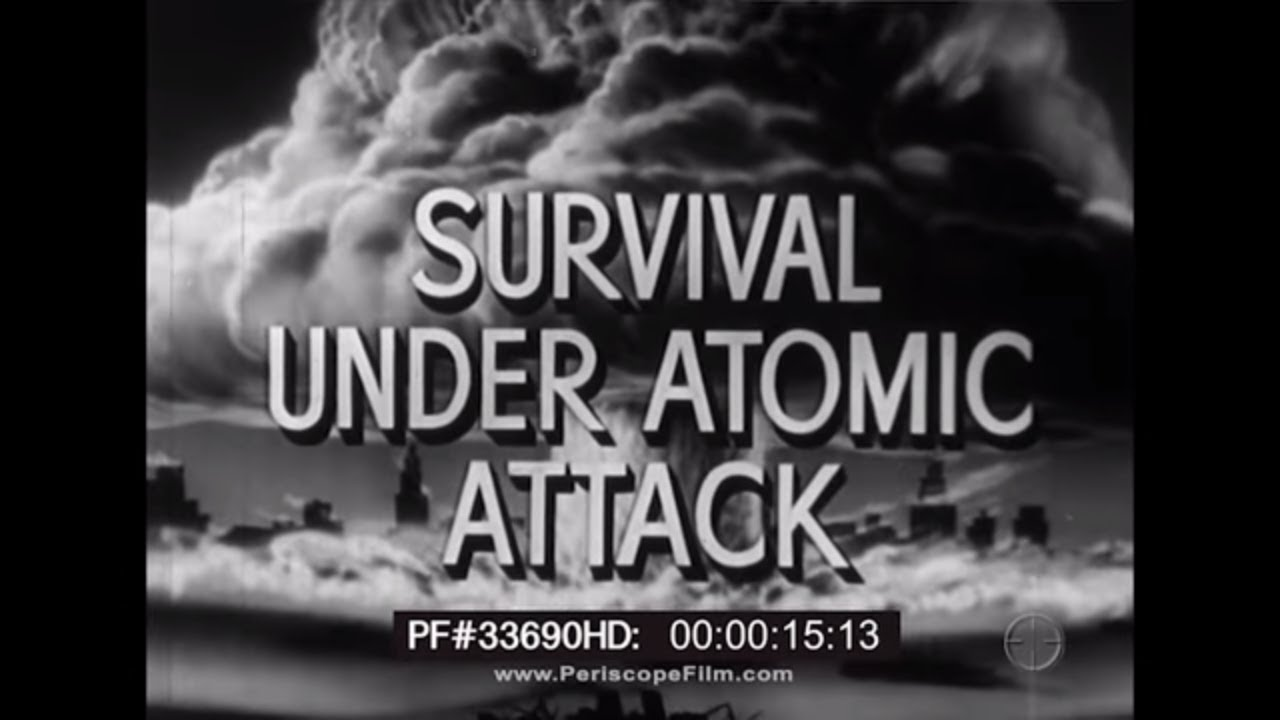 """Survival Under Atomic Attack"" 1951