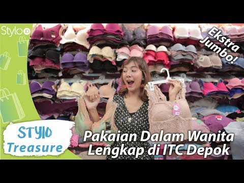 Belanja Bra, Celana Dalam & Lingerie Murah Di ITC Depok   Model Pakaian Dalam Wanita Terbaru