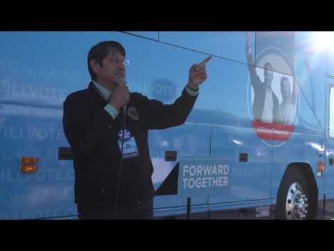 Navajo Nation Vice President Jonathan Nez in Tuba City