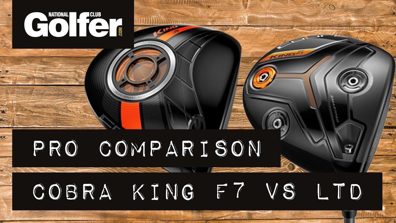 Cobra F7 Driver V Cobra King Ltd The Golf Shack Driver Comparison