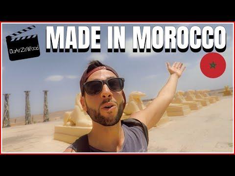 J'AI TOURNÉ UN FILM DE OUFFF À OUARZAZATE AU MAROC !! (Morocco)