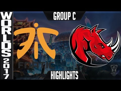 Fnatic vs Kaos Latin Gamers Highlights Game 1 - S7 Worlds 2017 Play in Group C - FNC vs KLG