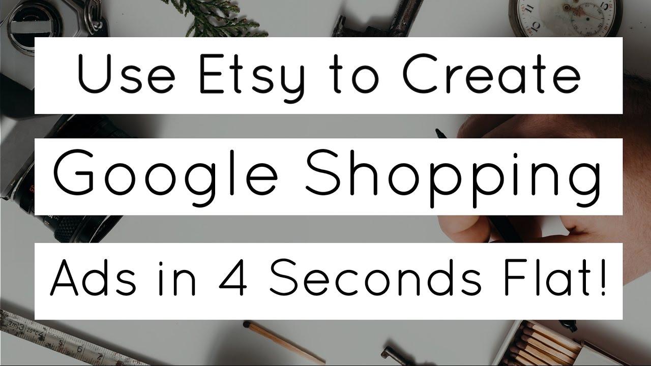 Use Etsy to Set up Google Ads