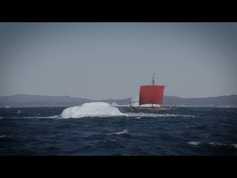 Sailing from Greenland to Newfoundland