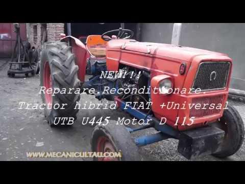 TRACTOR HIBRID - FIAT+ MOTOR  D 115 -  UNIVERSAL  U 445  ( 1 )