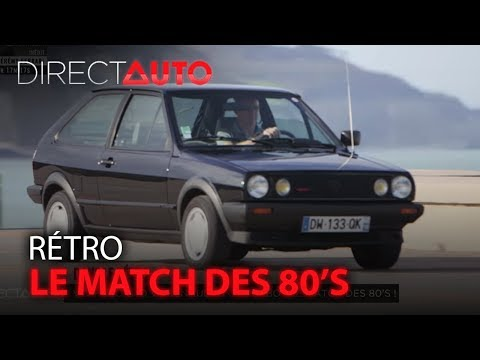 Renault 5 GT Turbo vs VW Polo G40 : le match des 80's