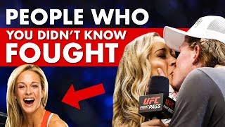 10 People You Didn't Know Fought In MMA