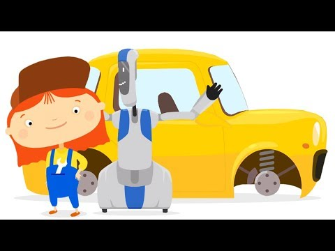 how to create a car 2d animation for kids