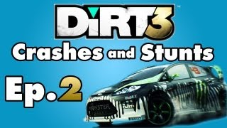 DiRT 3 - Crashes and Stunts Montage - Episode 2