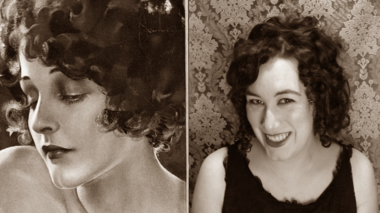 1920 S Curly Quot Bob Quot For Long Hair Youtube
