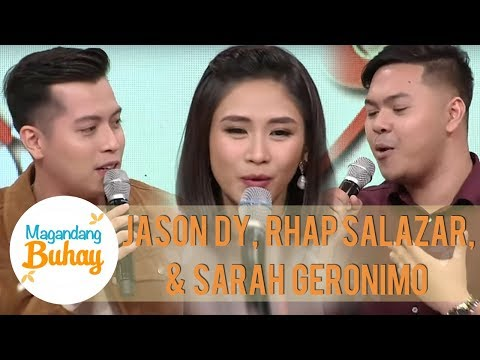 Jason Dy's sweet message for his coach Sarah | Magandang Buhay