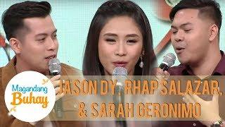 Jason Dy's sweet message for his coach Sarah   Magandang Buhay