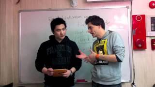 EiK Video 1 일상적인 한국어를 영어로 1편