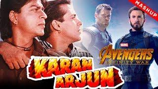 Karan Arjun - Infinty War Mashup | Mere Karan Arjun Ayenge