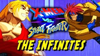 X-MEN Vs. Street Fighter: MARVEL VS. CAPCOM LEGACY - Part 3 (Online Matches)