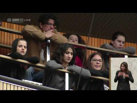 20170131 Politik live  Nationalratssitzung 1 Alev Korun Grüne 0650185740