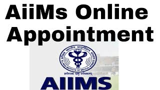 aiims appointment online