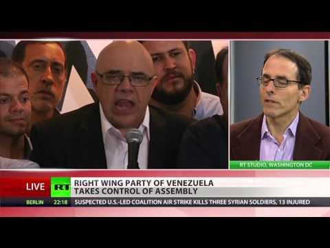 Chavez's Socialist Party loses control of Venezuela parliament