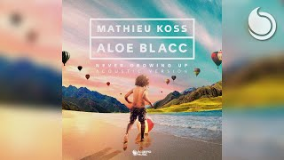 Mathieu Koss & Aloe Blacc - Never Growing Up (Acoustic Version)