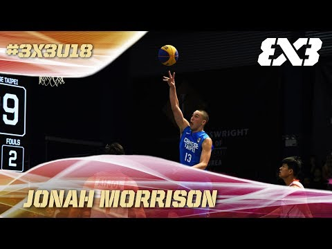 Chinese Taipei's Jonah Morrison is the Real Deal - U18 Asia Cup 2017 - FIBA 3x3