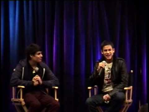 New Moon Wolf Pack Kiowa Gordon and Bronson Pelletier at the  Twilight Convention! 1