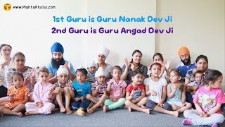 The Gurus Song - Sikh Nursery Rhyme in English