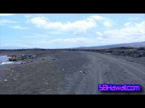 Kekaha Kai State Park, Hawaii: Black Sand Bango