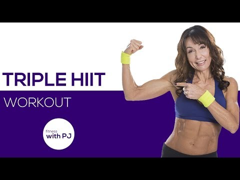 Triple HIIT Workout (for all levels) ♥