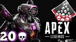 14 KILL STREAK WITH LONGBOW! AND 20 BOMB! - Apex Legends